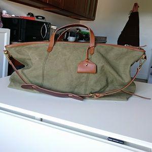317df0511 Madewell Bags | Canvas Transport Weekender Tote | Poshmark